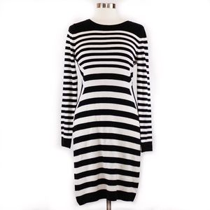 Calvin Klein Sweater dress, size Medium, stripped